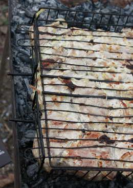 Шашлык из свинины с приправой Forester для маринования рыбы гриль