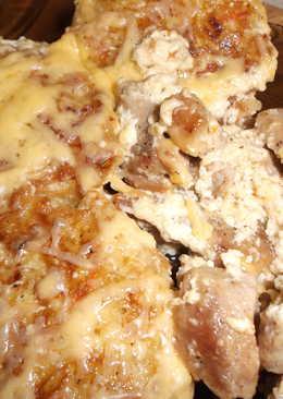 Биточки из картошки со свининой