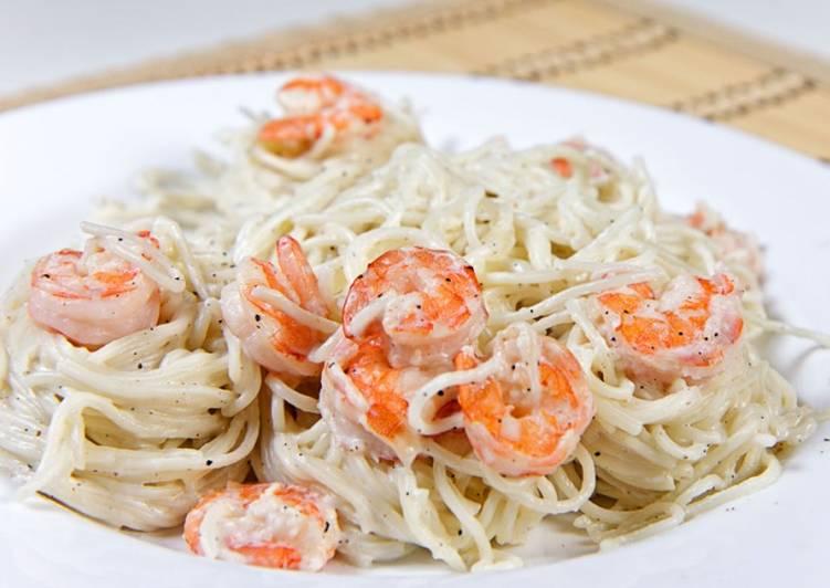 Паста Карбонара с креветками рецепт с фото пошаговый Едим