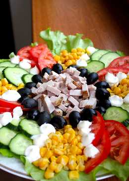 Салат Праздничное ассорти за 10 минут