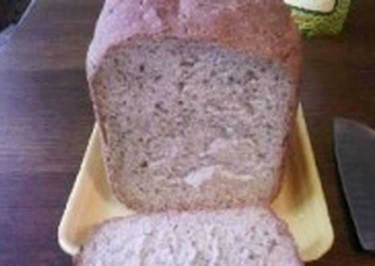 Хлеб с петрушкой и хреном