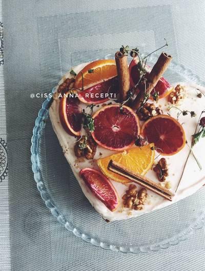 Морковный торт ПП