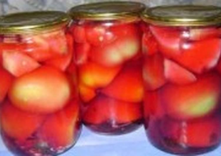 Салат-заготовка с фруктами и перцем