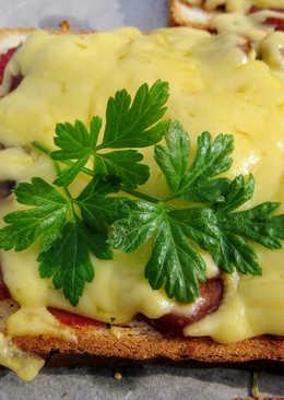 Ленивая пицца!Завтрак на скорую руку!