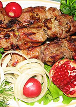 Сочный и мягкий шашлык из баранины