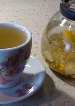 Облепихово - имбирно - лимонный чай