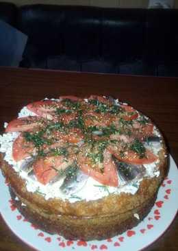 Хлебный-торт Вкусняшка