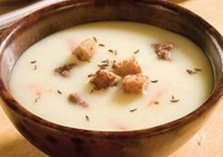 Сливочно-винный пряный суп