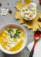 Пряный тыквенный суп- пюре