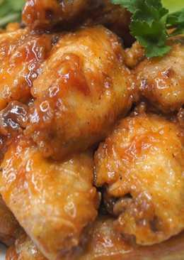 Нереально вкусные куриные крылышки