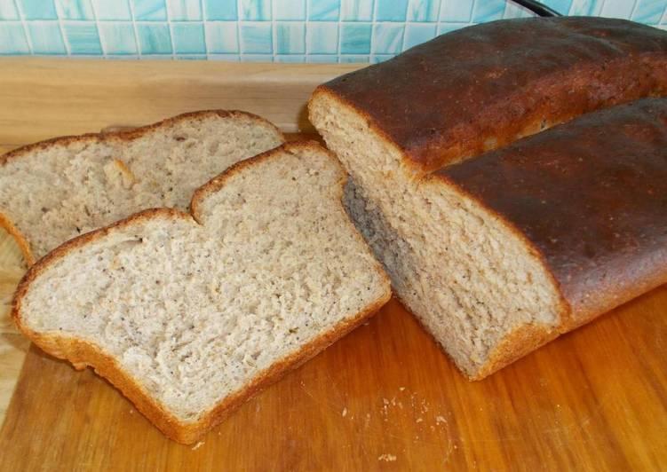 Хлеб ржано-пшеничный с отрубями