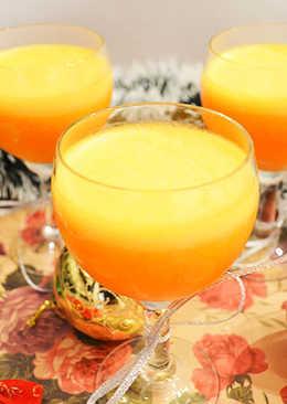 Десерт Тыквенное желе с апельсиновым соком