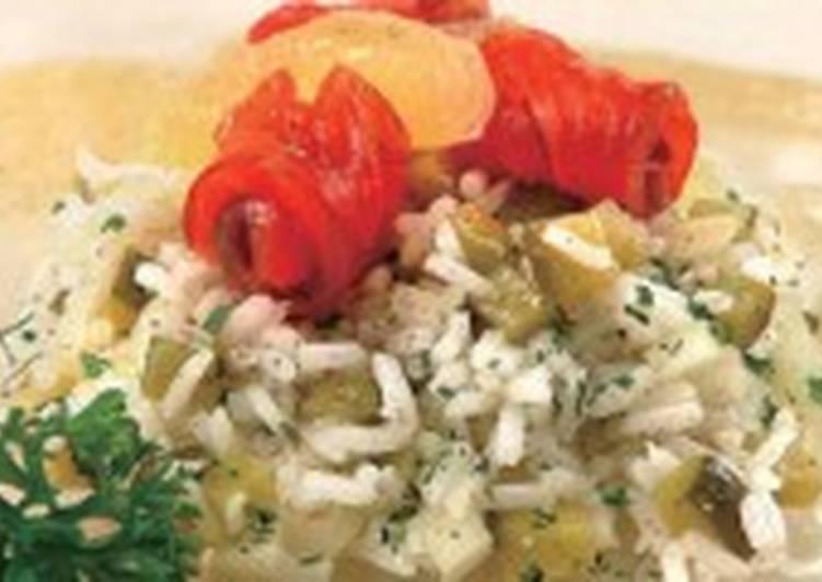Салат с филе лосося