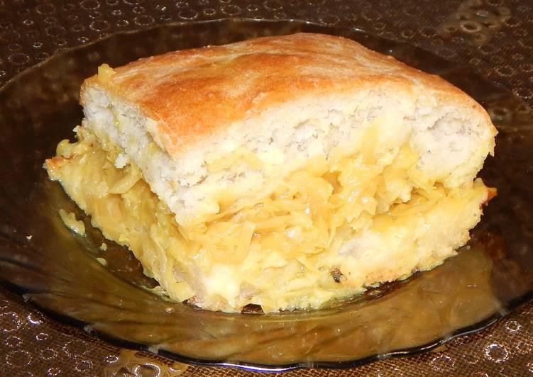 Пирог из рассола рецепт в духовке