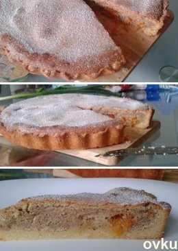 Пирог с апельсинами и фундуком