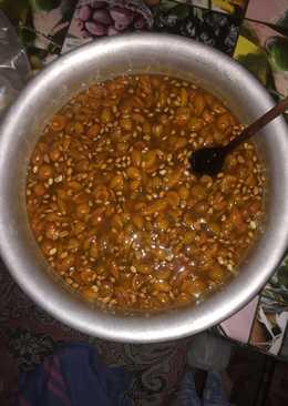 Варенье из абрикос (жерделей) с зёрнышками