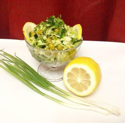 🌺 Салат из капусты и огурцов 🌺