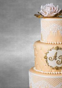 Как сделать свадебный 3-ярусный торт
