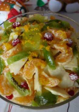 Праздничный фруктовый салат