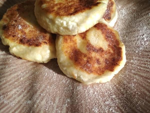 Аппетитные сырники
