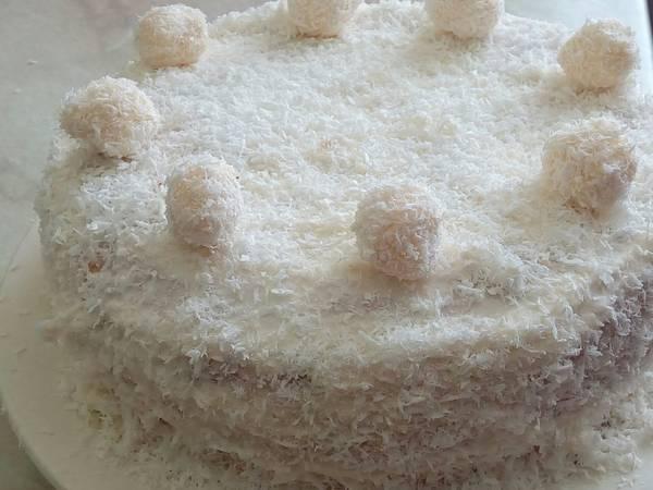 Кокосовый тортик