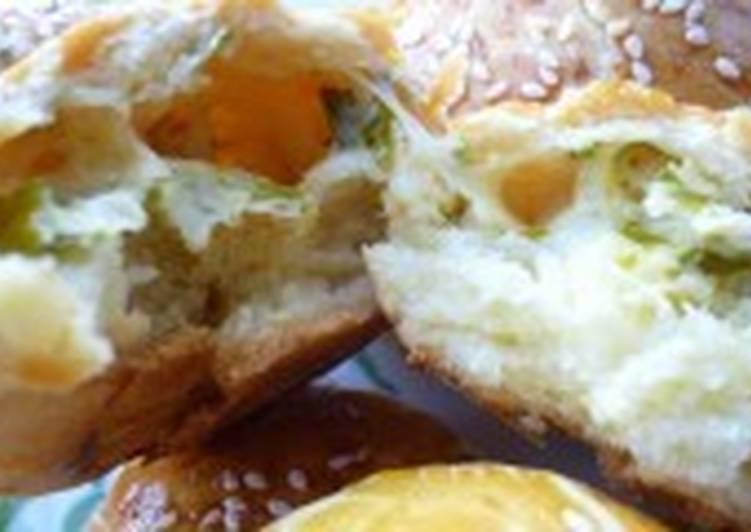 Булочки с сыром и кунжутом «Солнечные»