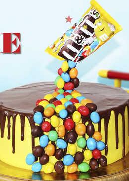 Гравитационный Торт M&M's - Необычный Торт На Детский Праздник - Рецепты nk cooking