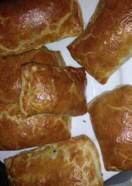 Слоеные пирожки из легкого (просто и вкусно)