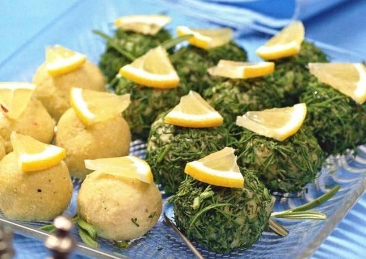 Рыбная праздничная закуска «Кнедли»