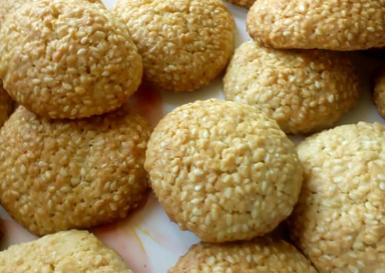Рецепт наивкуснейшего кунжутного печенья