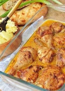 Острая курица в сливочном соусе