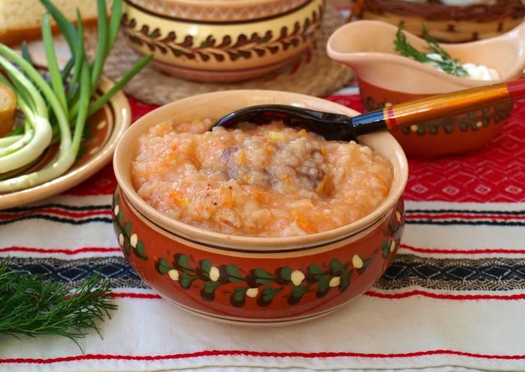 Капустняк с рисом