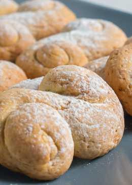 Пирог с абрикосами и заливкой