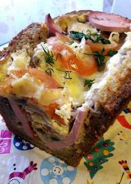 Колбасный хлеб