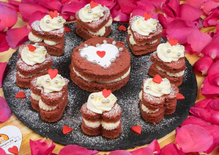 Пирожное «Бархатное сердце»