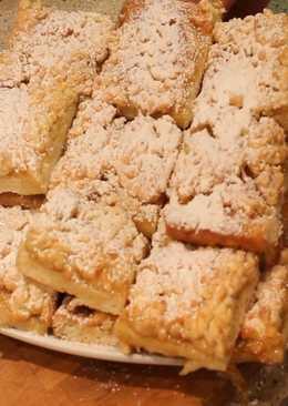 Лимонное печенье (тертый пирог)