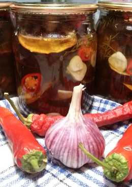 Баклажаны в маринаде с чесноком - рецепт на зиму