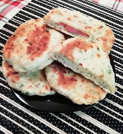 Вкуснейшие лепешки с сыром!