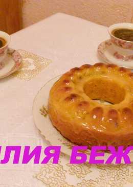 Тыквенный кекс с лимонной глазурью