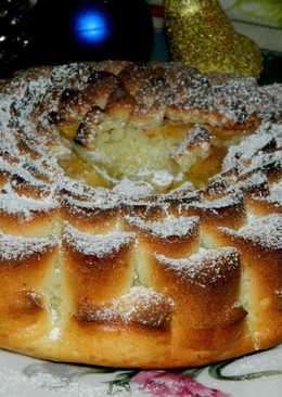 Нежный пирог с хурмой