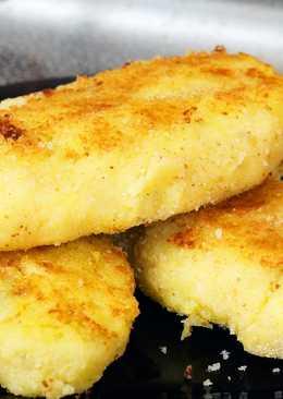 Картофельные зразы с грибами. Постный рецепт