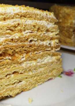 Торт Медовик. Простой и Вкусный Рецепт