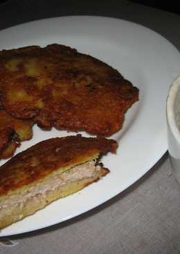 Свиная отбивная в хрустящей картофельной шубке