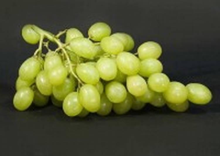 Яблочный компот c виноградом