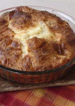 Гибаница - слоеный сырный пирог