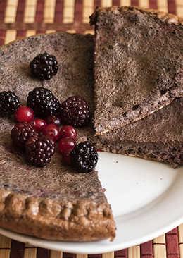Десерт Для Похудения №35 Ягодный Овсяный Пирог