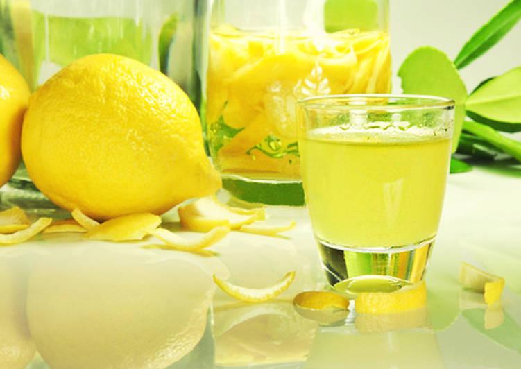 Ликер лимонный в домашних условиях рецепт