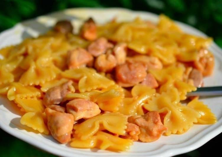 Как вкусно приготовить макароны с курицей