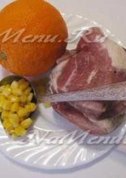 """Рецепты ко дню влюбленных.мясная закуска в апельсине""""оранжевое настроение"""""""