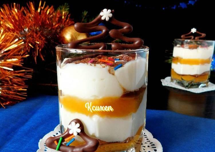 """Десерт с тыквой """"а-ля Тирамису"""""""